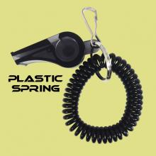 Spring with clip and whistle series