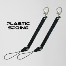 Easy And Quick Releast Binding Spring Rope Mobile Phone Nylon Wire And Small Hook Series